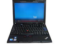 Cheap Laptop Lenovo Thinkpad X201 Intel Core i5 @ 2.4GHz 4GB RAM 320GB HDD Win 7 Pro WIFI