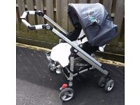 Maxi Cosi Loola Up Pram / Pushchair / Buggy with Carrycot and Accessories Excellent Condition