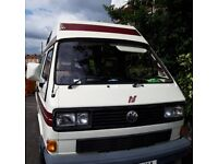 VW T25 in excellent condition with new engine
