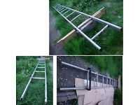 Single Ladder 3.66m Length X 0.29m Width 11 rung, light and durable.