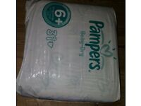 Pampers Baby dry, Size 6+, 17kg+ (Sealed Pack of 31)