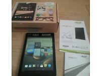 Acer icona A/1tablet complete in box