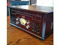 Itek Antique Look Record/CD/Tape Player