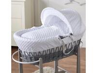 WANTED MOSES BASKET for baby girl, preferably white