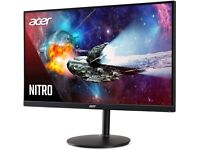 24.5 inch 240Hz Acer Nitro Gaming Monitor Screen Display with inbuilt speakers