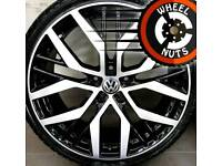 "19"" VW Sandiego alloys perfect cond excel tyres."