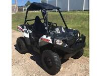 Polaris Ace white lightening buggy
