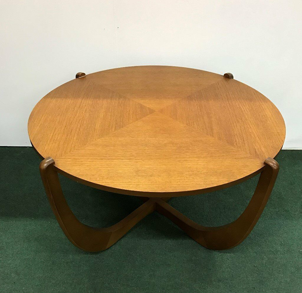 Vintage Retro 1970 39 S Round Teak Coffee Table In Preston Lancashire Gumtree