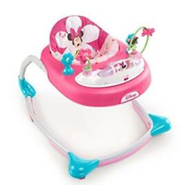 Disney Minnie Mouse bows and butterflies baby walker