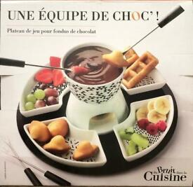 Game Board For Chocolate Fondue-New