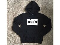 Genuine HH Black Hoodie with Front Design