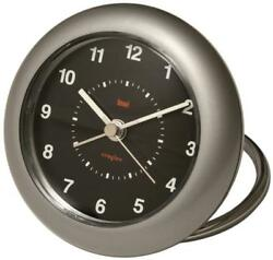 Bai Rondo Travel Alarm Clock, Helio Black
