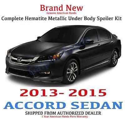 Genuine OEM Honda Accord 4Dr Sedan Complete Under Body Kit  2013 - 2015 G536M