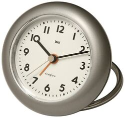 Bai Rondo Travel Alarm Clock, Gunmetal 506 LA