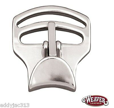 """Tackaberry Cinch Buckle 2"""" Strap Slots Stainless Steel New (Free Ship)"""
