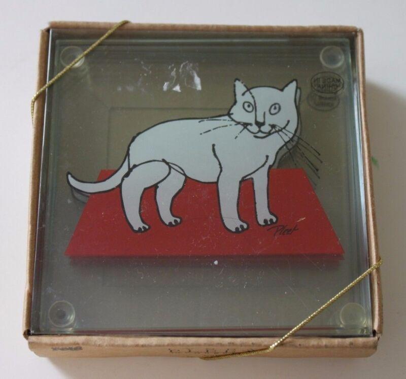 Lynda Pleet Harmony Pets Cat Coasters Harmony Ball Company