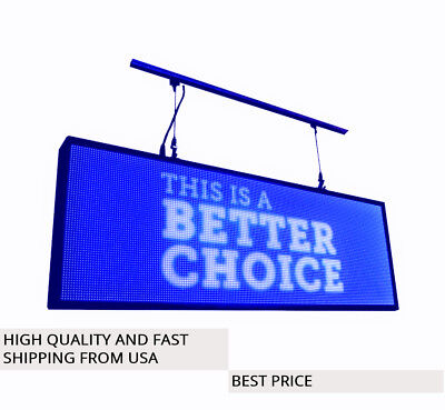 Led Sign Programmable Electronic Board Full Color Outdoor Led Display 39x14