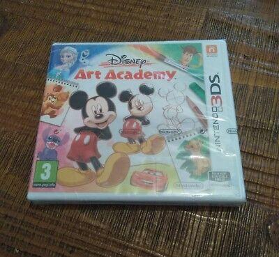 Jeu vidéo Nintendo 3 Ds Disney Art Academy Mickey