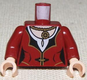 LEGO-NEW-MINIFIGURE-FEMALE-DARK-RED-TORSO-WITH-FLESH ...