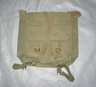 WW2 CANADIAN OR BRITISH 1944 DATED KNAPSACK