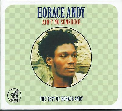 Horace Andy - Ain't No Sunshine - The Best Of - Greatest Hits 2CD NEW/SEALED