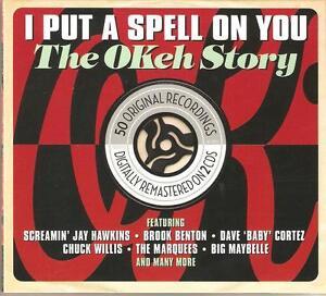I PUT A SPELL ON YOU THE OKEH STORY - 2 CD BOX SET - ORIGINAL RECORDINGS