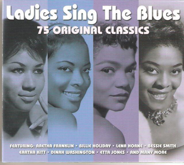 LADIES SING THE BLUES 75 ORIGINAL CLASSICS - 3 CD BOX SET