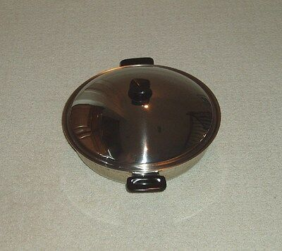 Used, GREAT VITACRAFT VITA CRAFT STAINLESS STEEL WOK WATERLESS COOKWARE - US MADE! for sale  Frisco