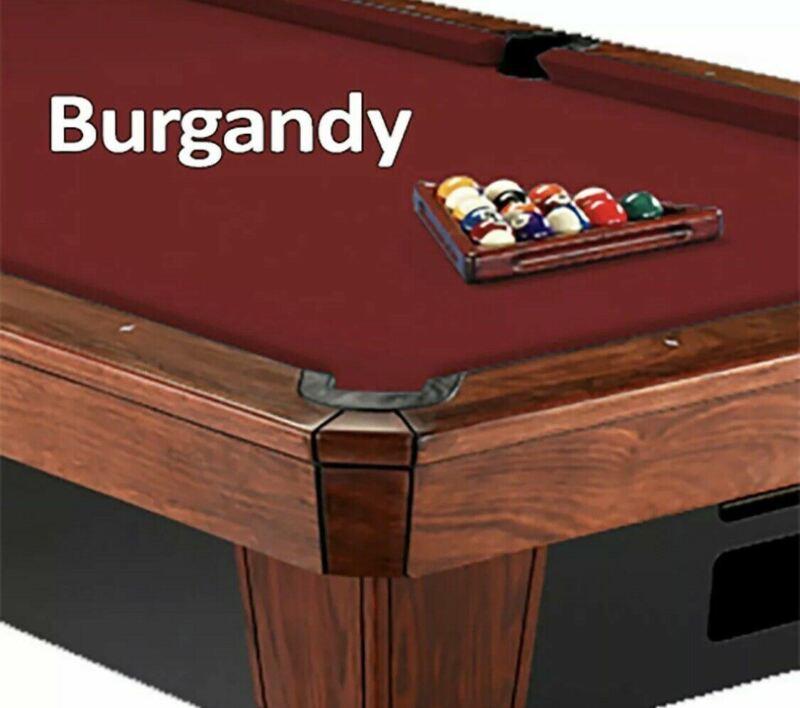 Simonis 860 Pool Table Cloth Felt - Burgundy - 8