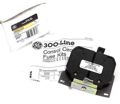 Lot Of 3 Nib General Electric Cr305x141a Control Circuit Fuse Kits 600v 1 Fuse