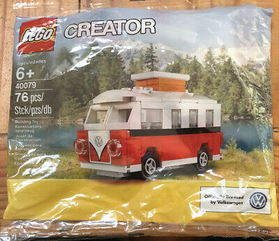 LEGO Set 40079 Creator Mini Volkswagon T1 Camper Van VW Bus Polybag