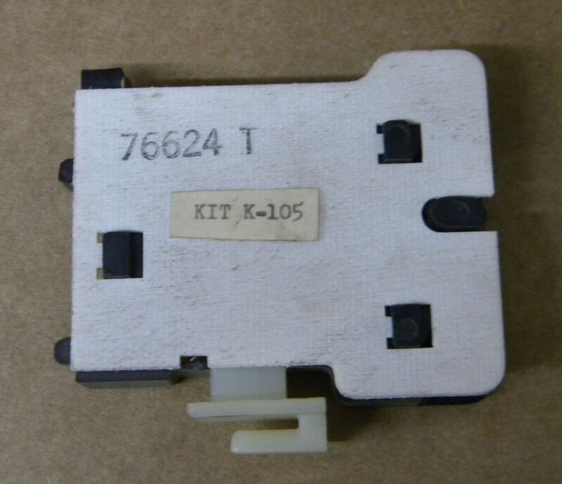 RELIANCE 76624-T AUXILIARY CONTACT NEW 76624T