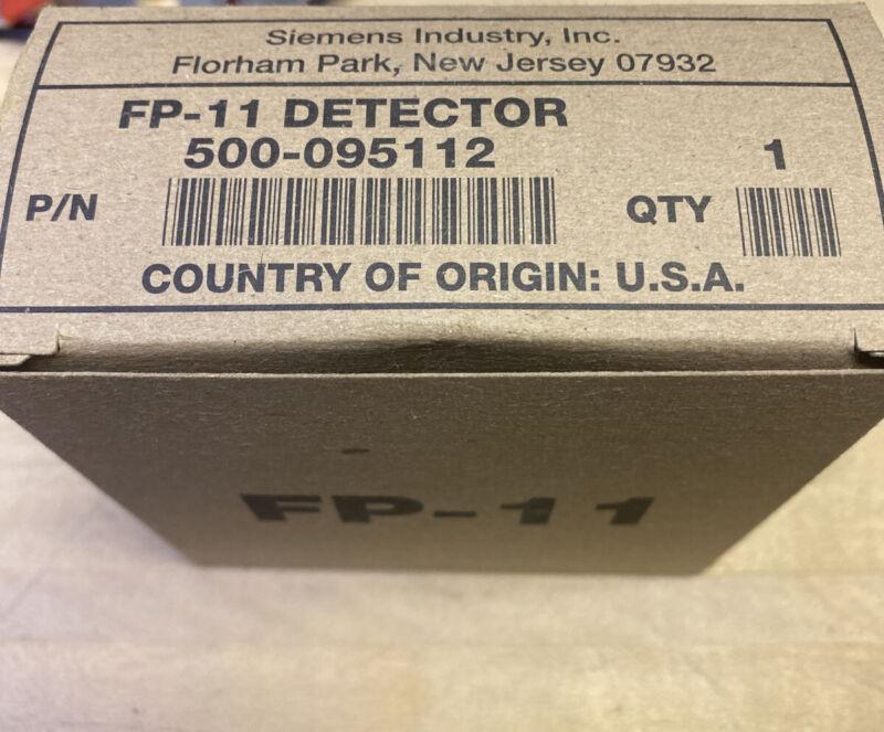 Siemens FP-11 Smoke Detector New In Box 500-095112