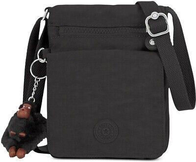 El Dorado Small Shoulder Bag, Kipling, Black Tonal