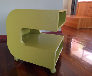 Retro style side table. Green. Rossmoyne Canning Area Preview