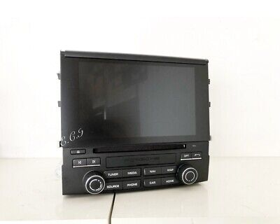 2017 2018 OEM Genuine Porsche Cayenne S Turbo PCM4 Navigation Radio  + Module Dr
