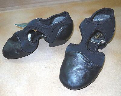 New in Box Capezio Pedini Femme PP323 BLACK Lyrical Sandal C