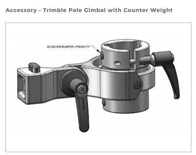 Trimble Mep Survey Pole Gimbal W Counterweight