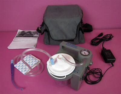 Devilbiss 7305d Portable Aspirator Vacuum Suction Respiratory Pump Case
