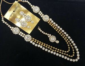 Indian pakistani ladies fine jewellery high end necklace choker