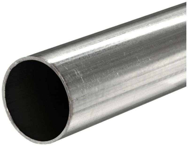 """304 Stainless Steel Round Tube, 1-1/2"""" OD x 0.065"""" Wall x 12"""" long"""
