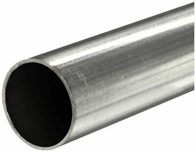 304 Stainless Steel Round Tube 2-12 Od X 0.049 Wall X 12 Long