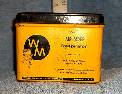 Air-Aider respirator Metal Box - Fast Shipping