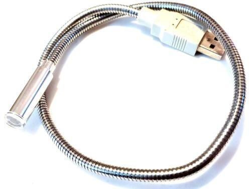 """Older 12"""" Portable Travel USB Flexible Led Light"""