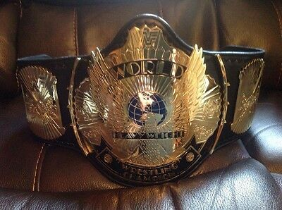 WWF  Paul Martin Re-leathered  2mm  Winged Eagle Championship Belt