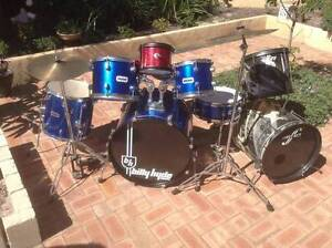 10 piece Drum Kit Quinns Rocks Wanneroo Area Preview