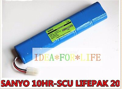For Lifepak 20 Defibrillator 10hr-scu 3200407-001 12v 3000mah Battery T2496 Ys