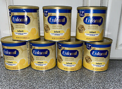 Enfamil Infant Formula 12.5oz ea 7 Cans