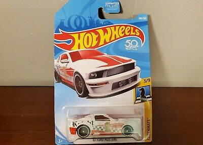'07 Ford Mustang Hot Wheels 289/365 Checkmate 3/9 FJY92-D9C0M