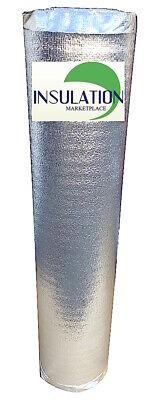 Smartshield -3mm 48x9ft Reflective Insulation Roll Foam Core Radiant Barrier.
